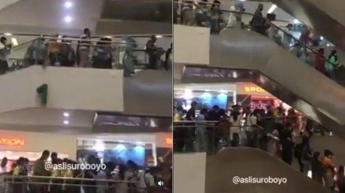 Suasana Panik Pengunjung Mal Terbesar di Surabaya Saat Gempa, Warga Sempat Kira Alami Darah Rendah