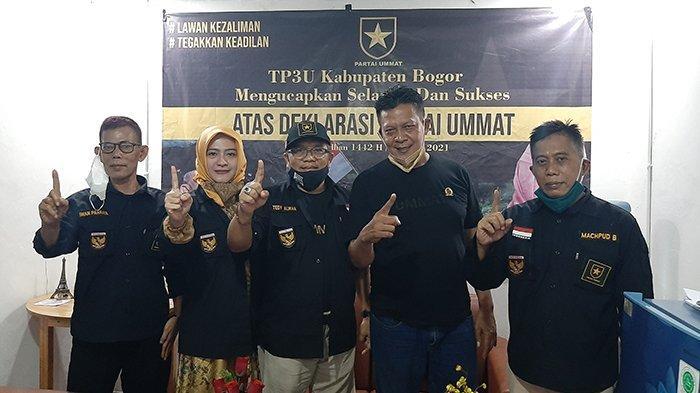 SK DPD Partai Ummat Kabupaten Bogor Diterbitkan, Fenny : Kita Sama-sama Sampaikan Aspirasi