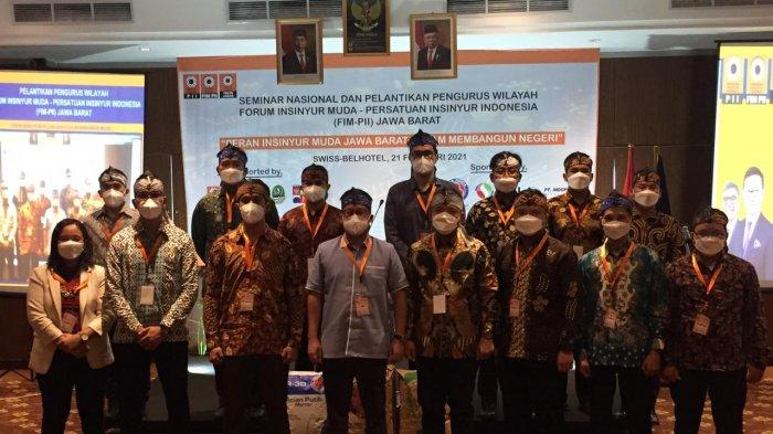 Himpun Insinyur di Indonesia, FIM-PII Jawa Barat Melantikan Pengurus Baru Periode Tahun 2021-2024