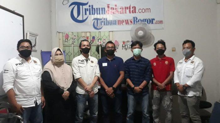 Jelang Konferensi, Pengurus PWI Kota Bogor Sowan ke Tokoh Media