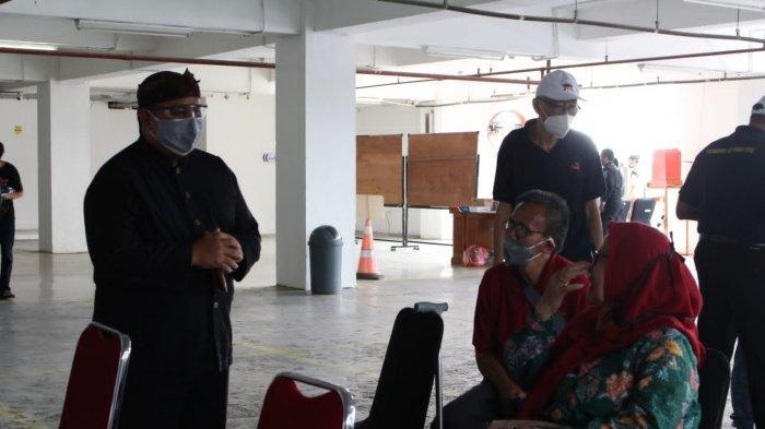Hadapi Pandemi Covid-19, Ketua DPRD Kota Bogor Ajak Warga Ikut Vaksinasi di Gedung Dewan