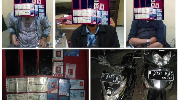 Peras Korban Sampai Rp 200 Juta, Tiga Wartawan Gadungan di Bogor Dibekuk Polisi
