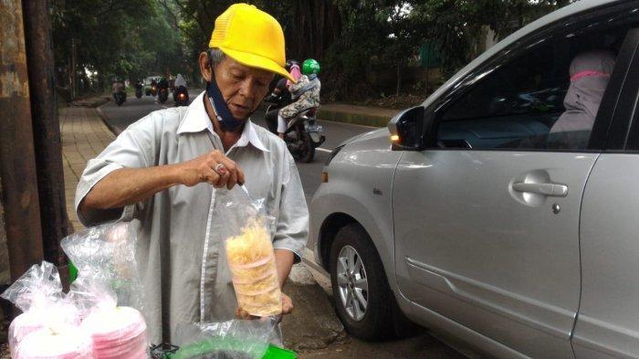 Kisah Inspiratif Mang Epen Penjual Arum Manis di Bogor, Kerap Bagikan Dagangannya secara Gratis
