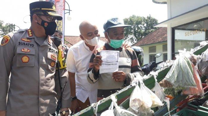 Cerita Tukang Sayur Yang Dagangannya Diborong Polisi, Muhidin : Biasanya Sore Baru Habis