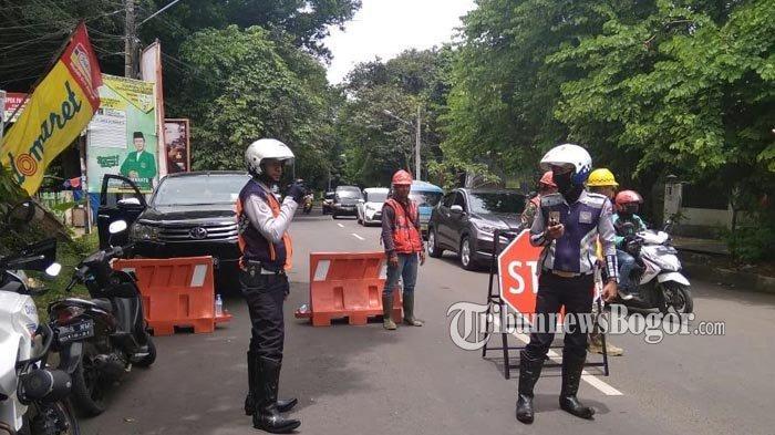 Buka-Tutup Jalur Jalan RE Martadinata Bogor, Ini Jalur Alternatif yang Bisa Lalui