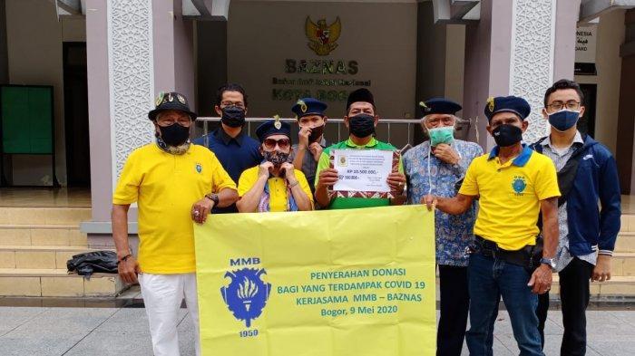 Mahasiswa Masyarakat Bogor Salurkan Donasi Rp 11 Juta Ke Baznas Kota Bogor