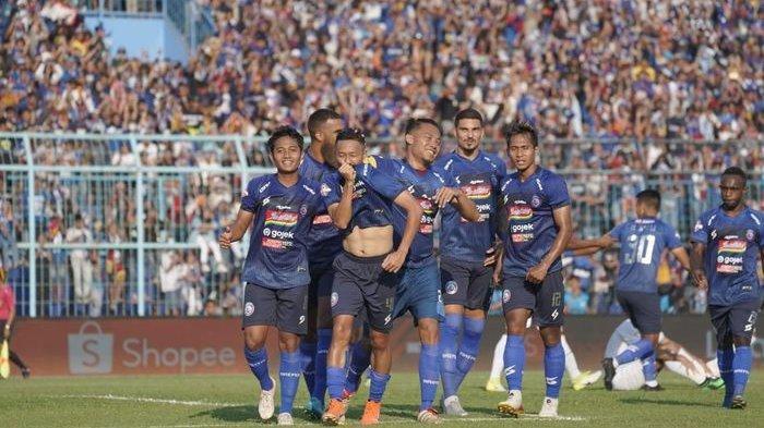 Bali United Ditahan Imbang Arema FC Pada Babak Pertama