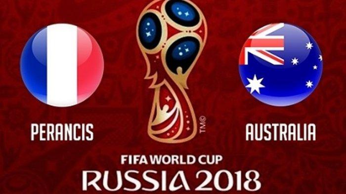 Jadwal Siaran Langsung Piala Dunia 2018 Sabtu 16 Juni 2018, Perancis dan Argentina Berlaga