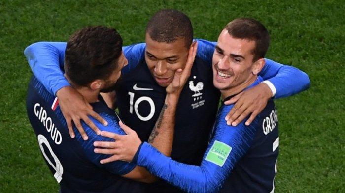 Jelang Semifinal Piala Dunia 2018, Ini Catatan Histori Pertandingan Perancis Vs Belgia
