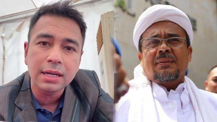 Sentil Raffi Ahmad & Ahok, Rizieq Shihab Tak Terima Jadi Terdakwa Sendirian : Mereka Teman Presiden?