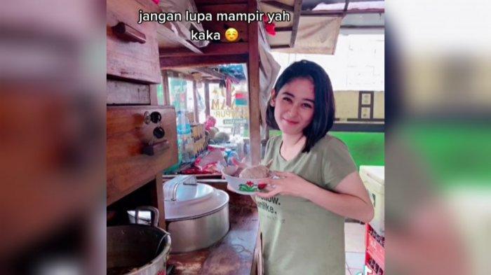Viral Artis Tiktok Cantik Penjual Bakso di Sentul Bogor, Ini Sosoknya