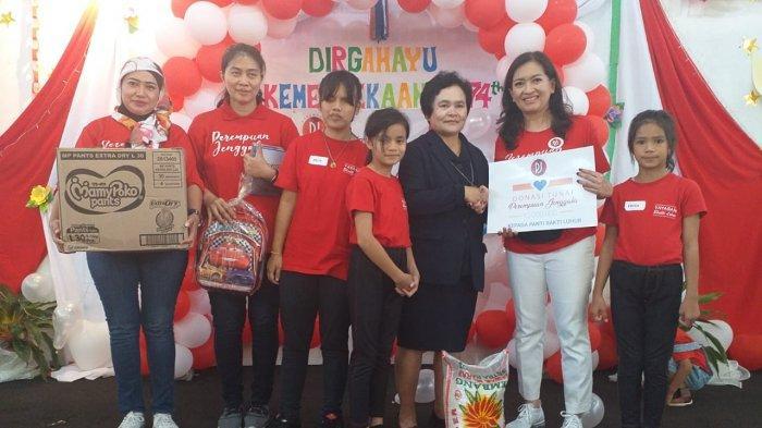 Perempuan Jenggala Rayakan HUT RI Bareng Anak Berkebutuhan Khusus di Bogor