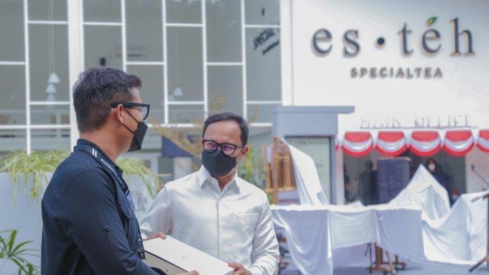 Manuver Bisnis Esteh Indonesia di Tengah Pandemi Bikin Bima Arya Bangga
