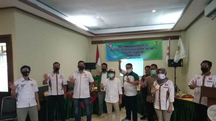 Irman Nurcahya Terpilih Menjadi Ketua Cabang Olahraga Bola Tangan Kabupaten Bogor