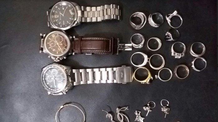 Gasak Perhiasan, 2 Perampok Spesialis Rumah Kosong Ditangkap