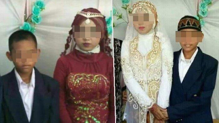 Viral Video Remaja 13 Tahun Nikahi Gadis Usia 14 Tahun di Kalsel, Mas Kawinnya Rp 100.000