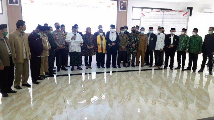 Kutuk Radikalisme, Forkopimda dan Tokoh Agama Kabupaten Bogor Deklarasikan Damai Tanpa Terorisme