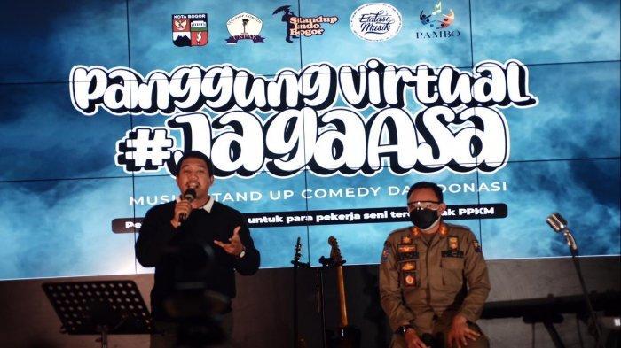 Bima Arya Rela di Roasting Demi Terkumpulnya Dana untuk Pekerja Seni di Bogor