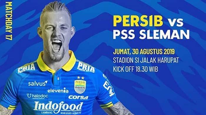 Live Streaming Persib Bandung Vs PSS Sleman, Malam Ini Kick Off Pukul 18.30 WIB - Ini Susunan Pemain