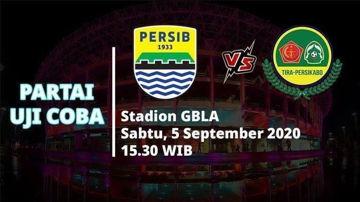 Laga Uji Coba Persib Bandung Vs Persikabo 1973, 90 Menit Pertandingan Tanpa Gol