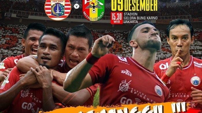 Persija Jakarta Juara Liga 1 2018, 3 Tim Terdegradasi
