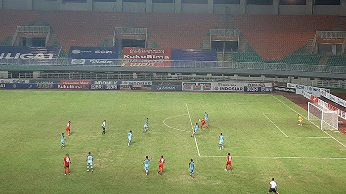 Hasil Liga 1 2021 - Persija Jakarta Raih Kemenangan Perdana, Unggul 2-1 atas Persela