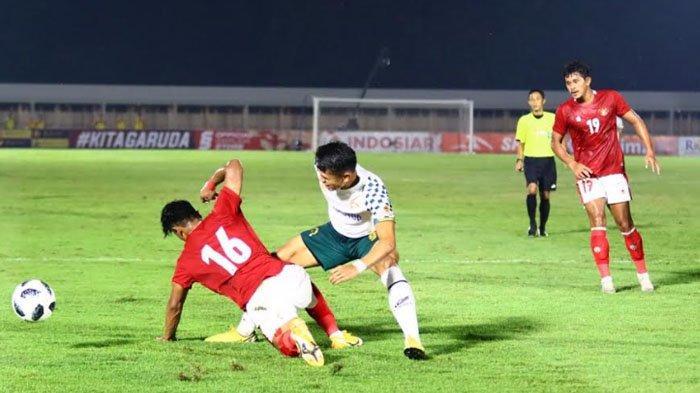 M Rafli Jadi Pemain Paling Menonjol di Timnas Indonesia U-23 saat Kalahkan Persikabo 1973
