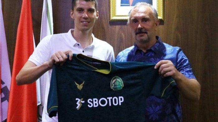 Jelang Liga 1 2021, Persikabo 1973 Perkenalkan Pemain Baru Asal Belarusia