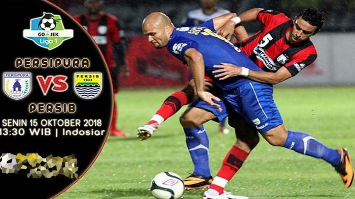 Hasil Babak Pertama Persipura Vs Persib Bandung Tanpa Gol
