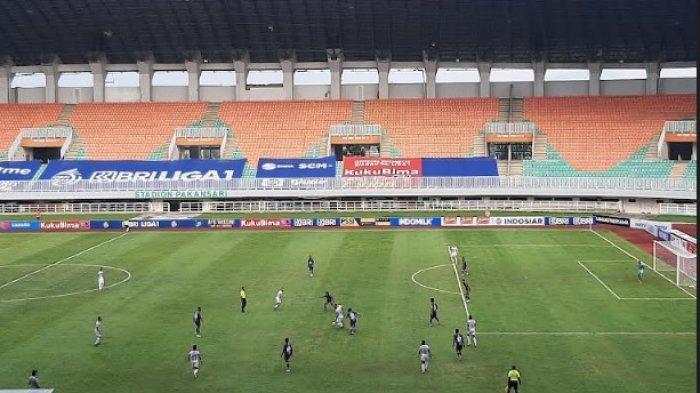 Tendangan Keras Ilija Spasojevic Bawa Bali United Unggul 1-0 atas Persita Tangerang di Babak Pertama