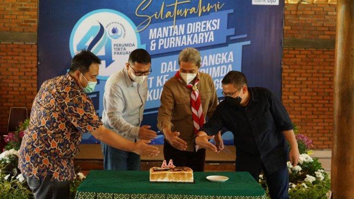 Perumda Tirta Pakuan Kota Bogor menggelar silaturahmi dengan jajaran direksi yang telah memasuki masa purnakarya