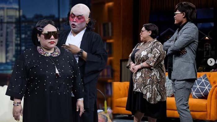 Andre Taulany dan Sule Ancam Nunung saat Jenguk di RSKO, Bikin Mami Tertawa Terpingkal