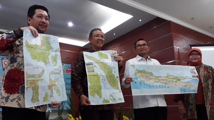 Jelang Lebaran, Badan Informasi Geofisikal Luncurkan Atlas Jalur Mudik