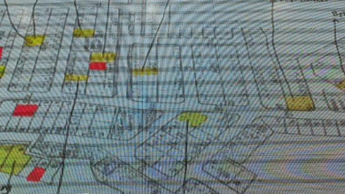 Peta Sebaran Covid-19 di Griya Melati, Beberapa Rumah yang Ditandai Warna Kuning Kini Menjadi Merah