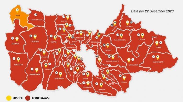 Akhir Tahun 2020 Hampir Semua Wilayah di Kabupaten Bogor Masuk Zona Merah, Ini Penjelasan Satgas