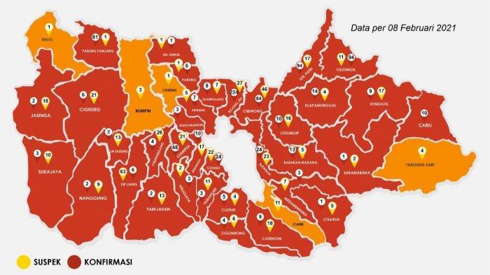 Update Covid-19 Kabupaten Bogor 8 Februari 2021, Kasus Sembuh Bertambah 102 Orang