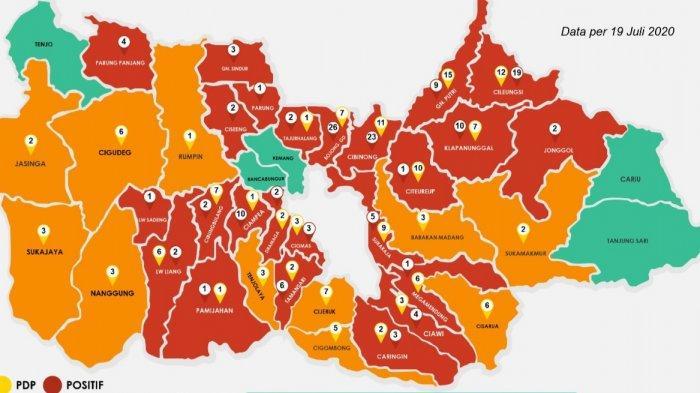 Zona Merah Corona di Kabupaten Bogor Kini Mulai Berkurang, Ini Data Terbarunya