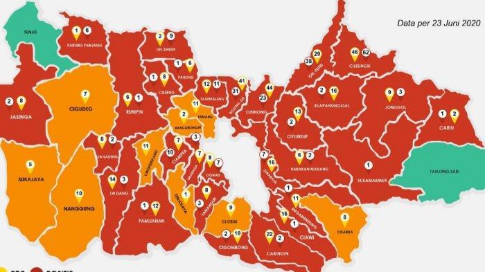 Zona Merah Corona di Kabupaten Bogor Terus Meningkat, Ini Kata Dinkes