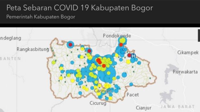 Pemkab Bogor Rilis Peta Sebaran Virus Corona di Kabupaten Bogor, Cek di Sini