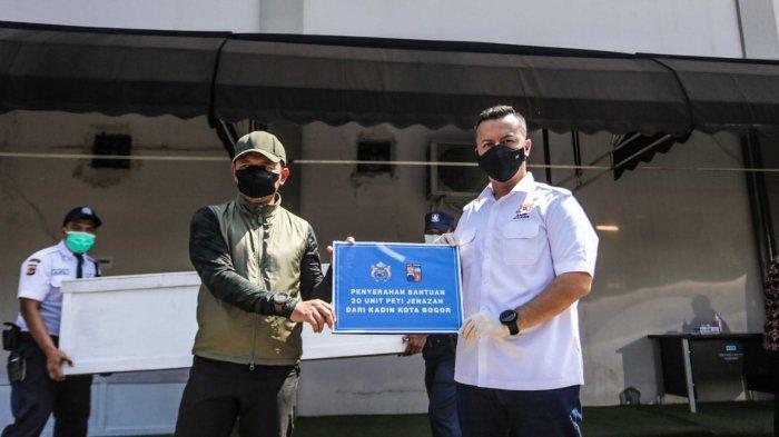 Kota Bogor Darurat Covid, Kadin Sumbang 20 Peti Jenazah, Bima Arya : Jangan Sampai Seperti India
