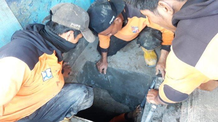 Kedalaman 2 Meter, Petugas Butuh Waktu 10 Hari Bersihkan Terowongan Bawah Tanah MA Salmun