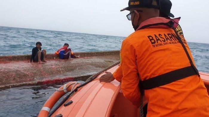 KM Elang Laut Terbalik di Perairan Kepulauan Seribu: 6 Orang Selamat, 4 Korban Hilang