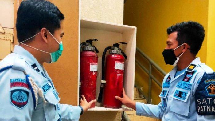 Antisipasi Kebakaran, Lapas Paledang Bogor Cek Kondisi Apar dan Tanggal Kadaluarsa