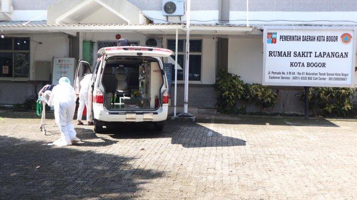 Pasien Terus Berdatangan, Gedung RS Lapangan Perluasan RSUD Sudah Terisi 10 Pasien