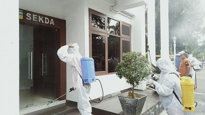 Komplek Balaikota Bogor Dilakukan Sterilisasi, ASN Masih Tetap Kerja