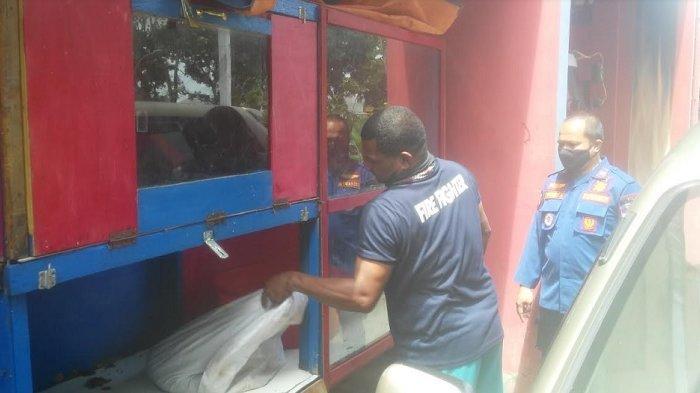 Sempat Melilit Ayam, Damkar Kota Bogor Evakuasi Ular Sanca Batik 3,5 Meter