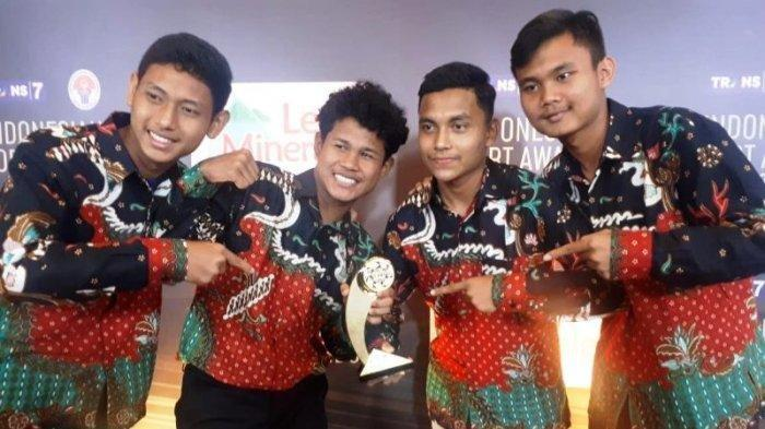 Daftar Lengkap Pemenang Indonesia Sport Awards 2018 , Ginting hingga Timnas U-16 Bawa Piala