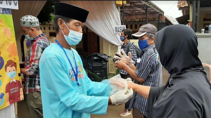 Pilkades Serentak, Pemilih di TPS 10 C Bojonggede Tertib Terapkan Protokol Kesehatan