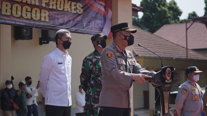 Cegah Tawuran saat PTM Terbatas, Puluhan Pelajar Ikuti Apel di Mapolresta Bogor Kota