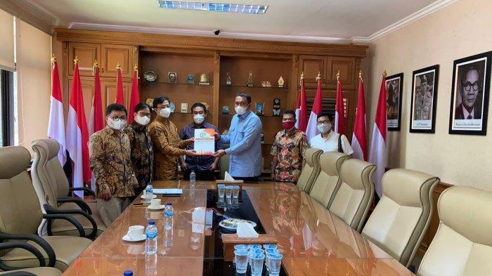 Kembangkan SDM Berbasis Pendidikan, ITB VINUS Temui Ketua DPRD Kabupaten Bogor